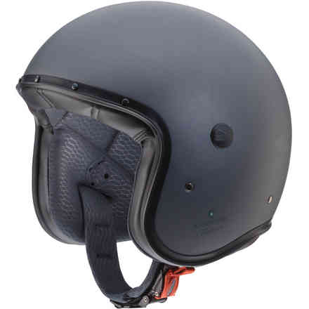 Casque Jet Freeride Matt Gun Metal Caberg