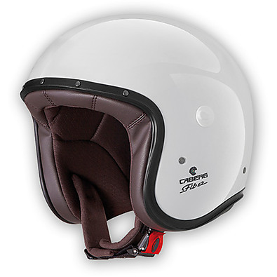 Casque Jet Freeride metal white Caberg