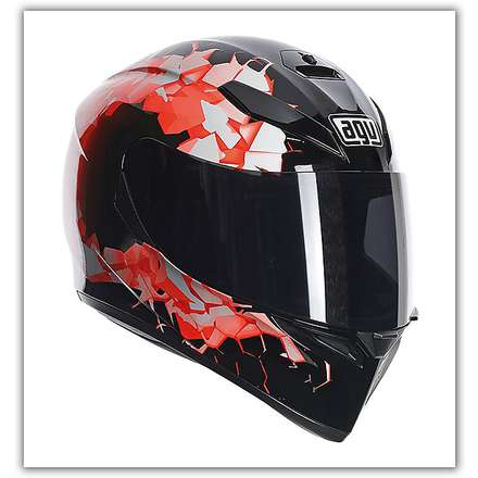 Casque K-3 Sv Fullbomb Orange Agv