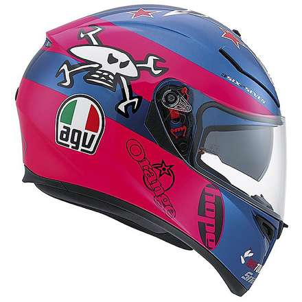 Casque K-3 Sv Replica Guy Martin Agv