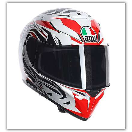 Casque K-3 Sv Rookie Rouge Agv