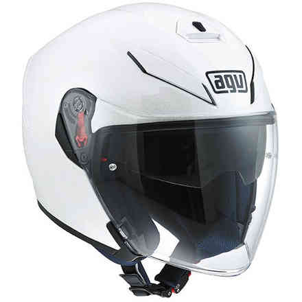 Casque K-5 Jet Solid blanc Agv