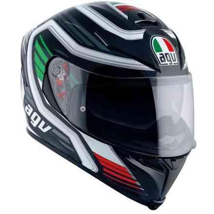 Casque K-5 S Fireface black Italy Agv