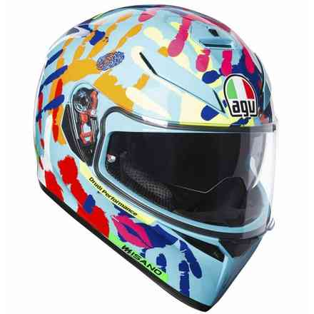 Casque K3 Sv Top Plk Misano 2014 Agv
