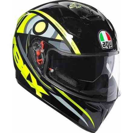 Casque K3 Sv Top Plk Solun 46 Agv