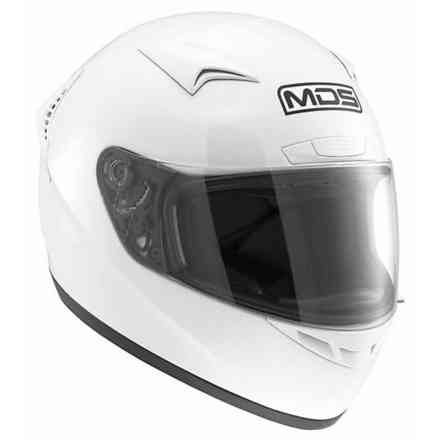 Casque M13 Solid blanc Mds