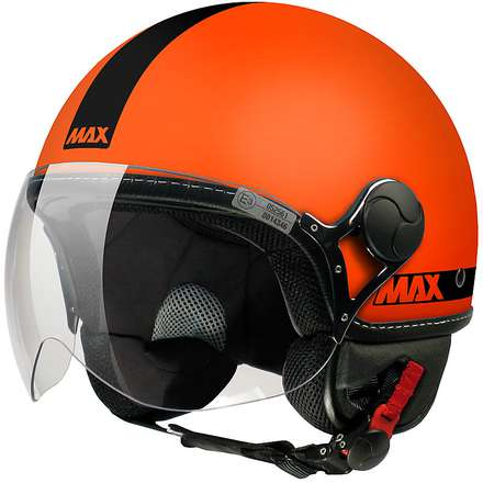 Casque Max Power Orange mat noir MAX - Helmets
