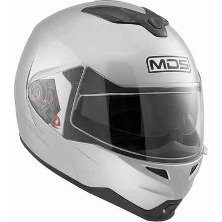Casque Md200 Solid argent Mds