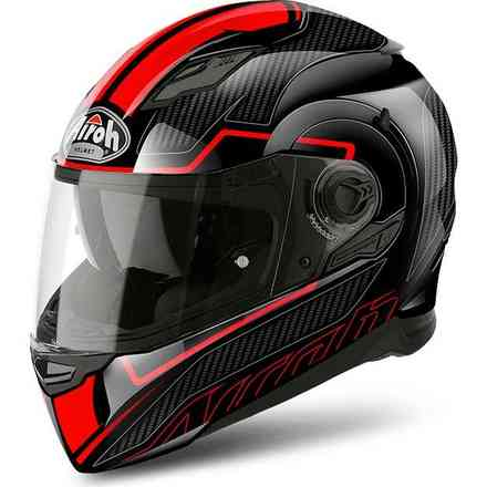 Casque Movement S Faster rouge Airoh