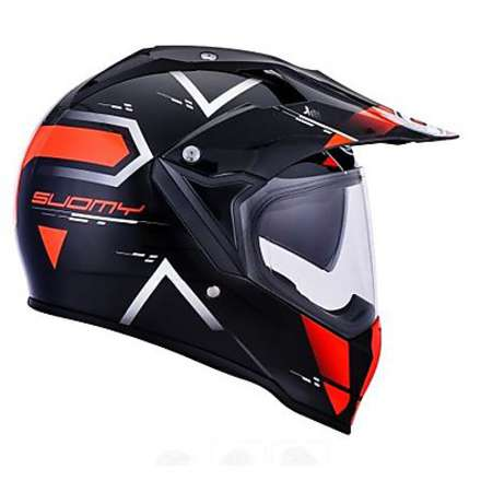 Casque Mx Tourer Road orange Suomy