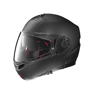 Casque N104 Absolute Classic  N-Com flat black Nolan