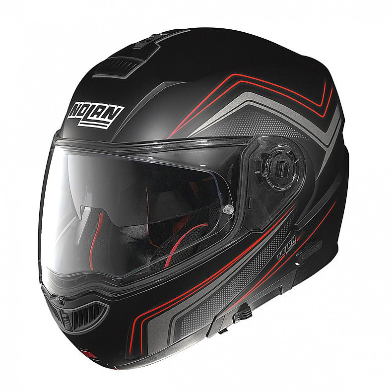 Casque N104 Absolute Como N-Com flat black  Nolan