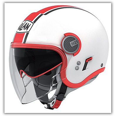 Casque N21 Visor  Duetto Rouge Nolan