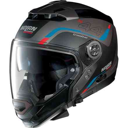 Casque N44 Evo Viewpoint N-Com Flat Lava Grey Nolan
