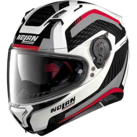Casque N87 Arkad rouge Nolan