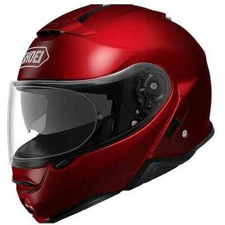 Casque Neotec II wine red Shoei