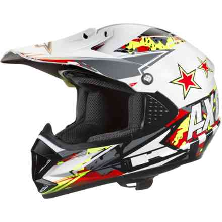 Casque Ninja Jr. rouge Axo