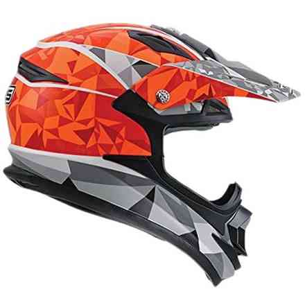 Casque Onoff Multi Pyramids Orange Mds