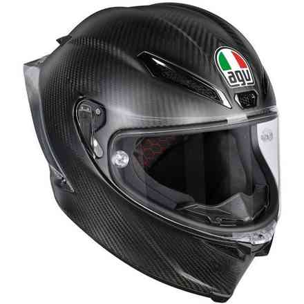 Casque Pista  GP R matt carbon Agv