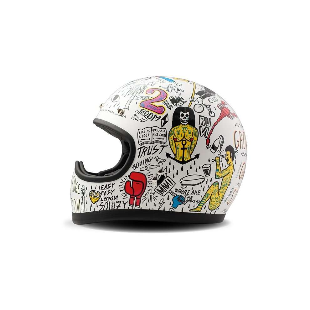 Casque racer Tribal DMD
