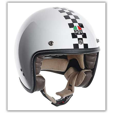 Casque RP60 Checker Flag Agv