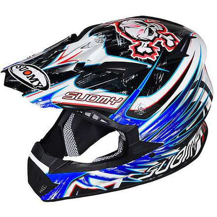 Casque Rumble Eclipse Blue Suomy