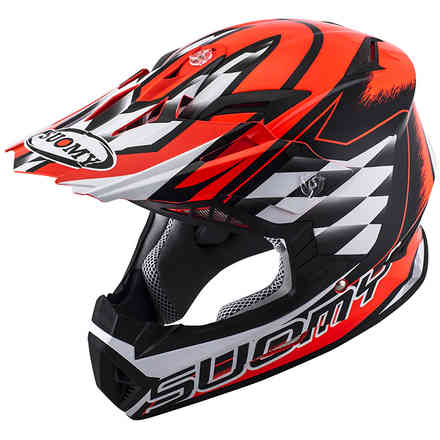 Casque Rumble Strokes rouge Suomy