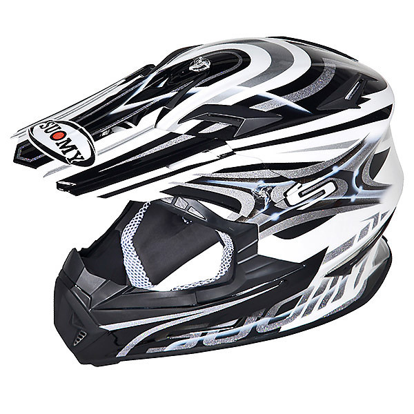 Casque Rumble Vision Silver Suomy