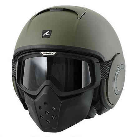 Casque Shark Blank Drak Mat Shark