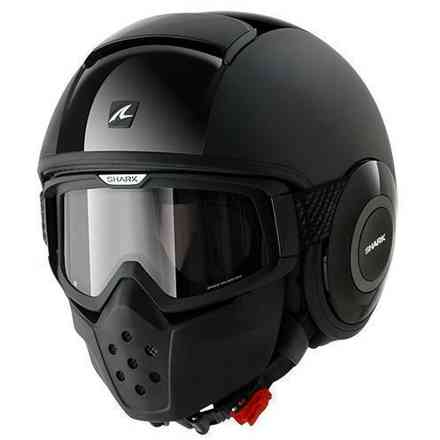 Casque Shark Drak double noir Shark