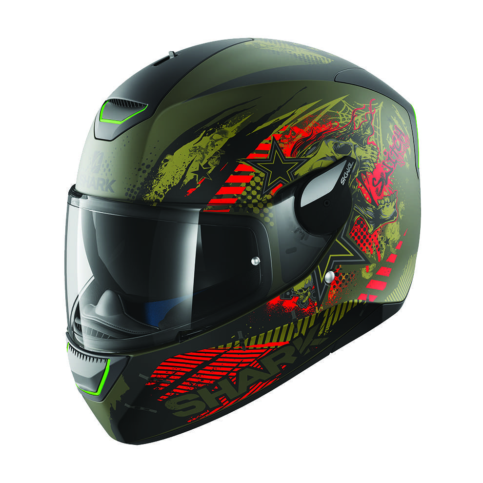 Casque Skwal Switch Riders Mat Shark