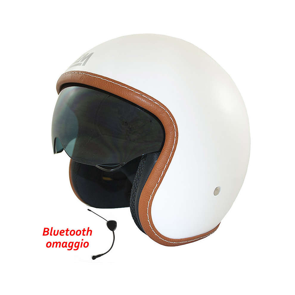 Casque sport solid white + Bluetooth Cadeau LEM
