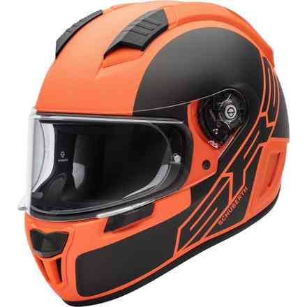 Casque Sr2 Traction Orange Schuberth