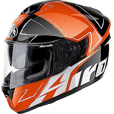 Casque ST 701 Way rouge fluo Airoh