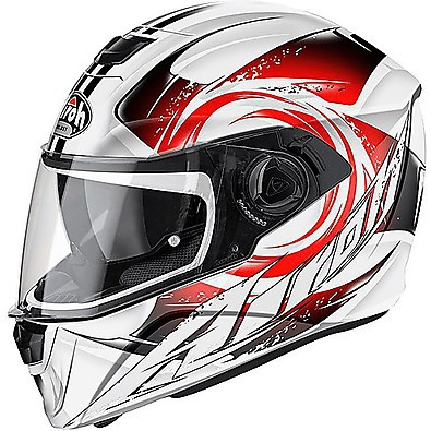 Casque Storm Anger rouge Airoh