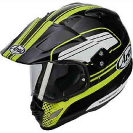 Casque Tour-X 4 Move jaune Arai