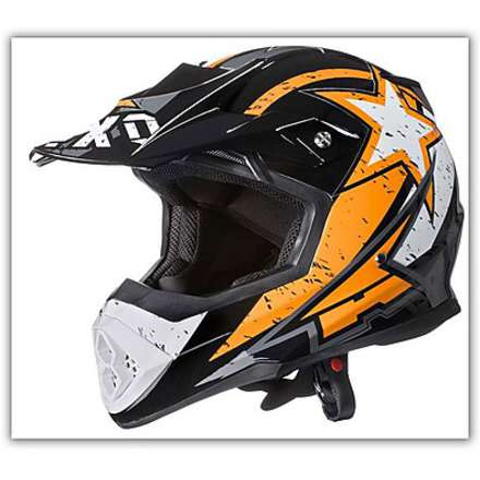 Casque Tribe Orange Axo