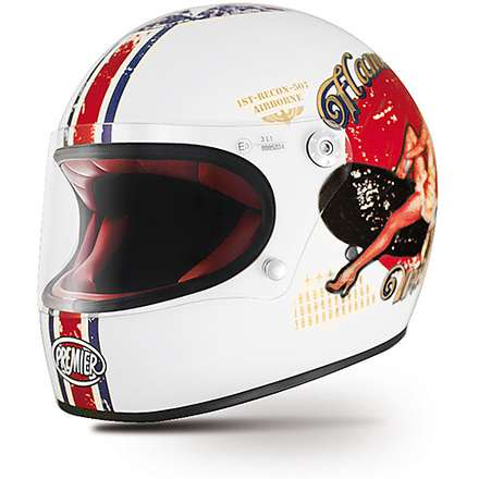 Casque Trophy Pin Up 8BM Premier