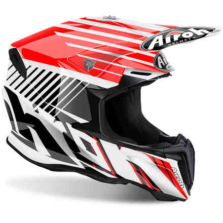 Casque Twist Strange rouge Airoh