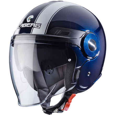 Casque Uptown Legend bleu midnight-blanc Caberg