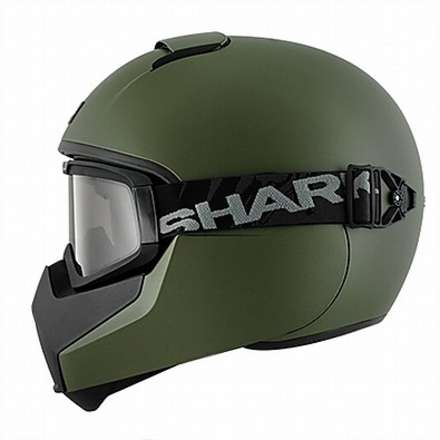 Casque Vancore Blank military green Shark