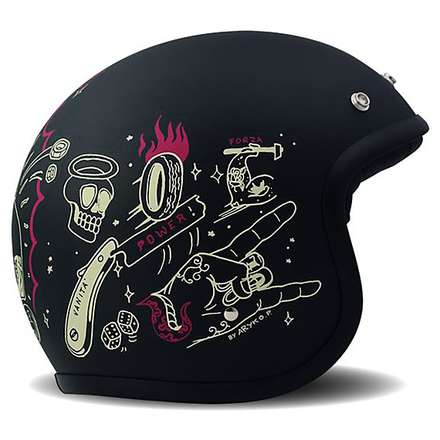 Casque Vintage Born Free DMD