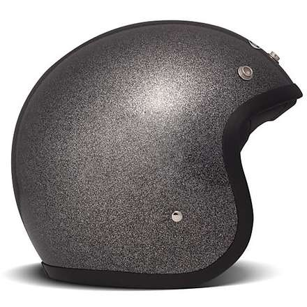 Casque Vintage Glitter Black DMD