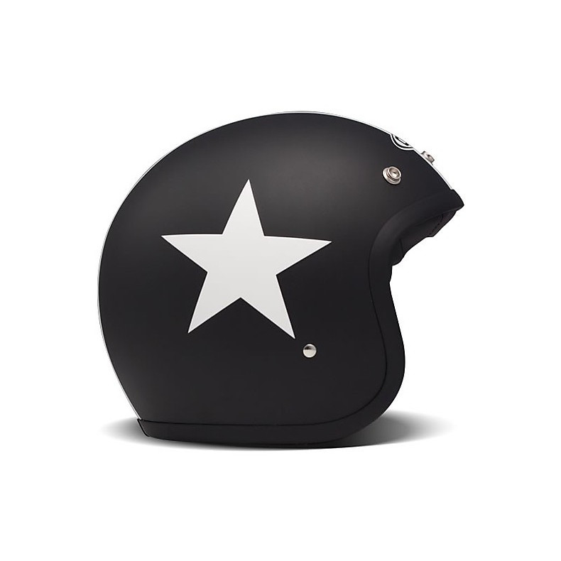 Casque Vintage Star Black DMD