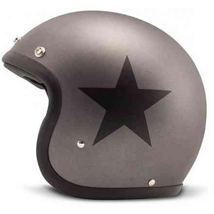 Casque Vintage Star Gris DMD