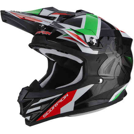 Casque Vx-15 Evo Air Robot  Scorpion