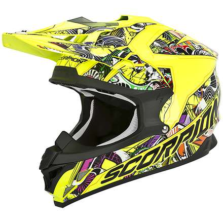 Casque VX-15 Evo Air Vector Scorpion