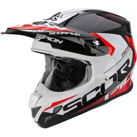 Casque VX-20 Air  Tactik noir-rouge Scorpion