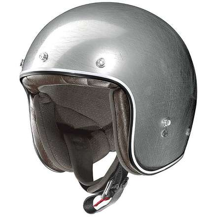 Casque X-201 Fresno Scratched Chrome X-lite