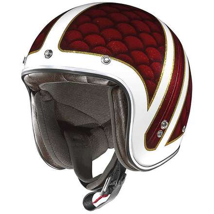 Casque X-201 Santa Monica rouge X-lite